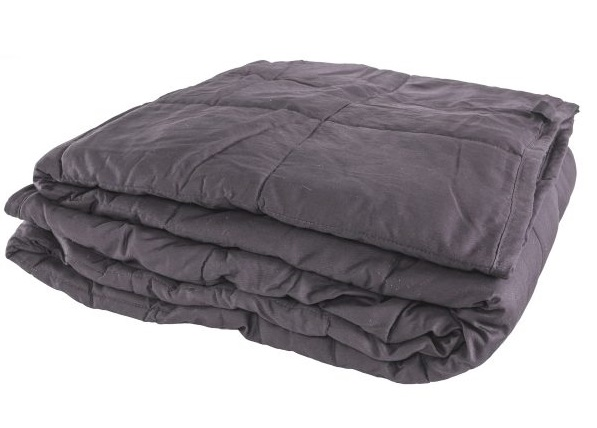 Gray Folded Weighted Blanket